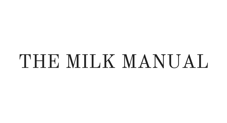 THE MILK MANUAL