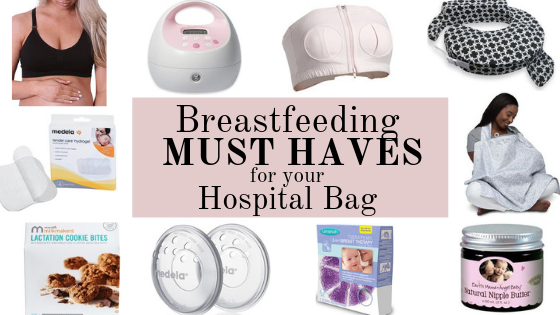 Breastfeeding Must Haves for Your Hospital Bag