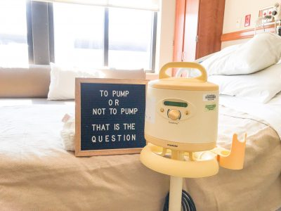 pumping in the hospital, when to pump