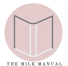 plain milk manual logo thing