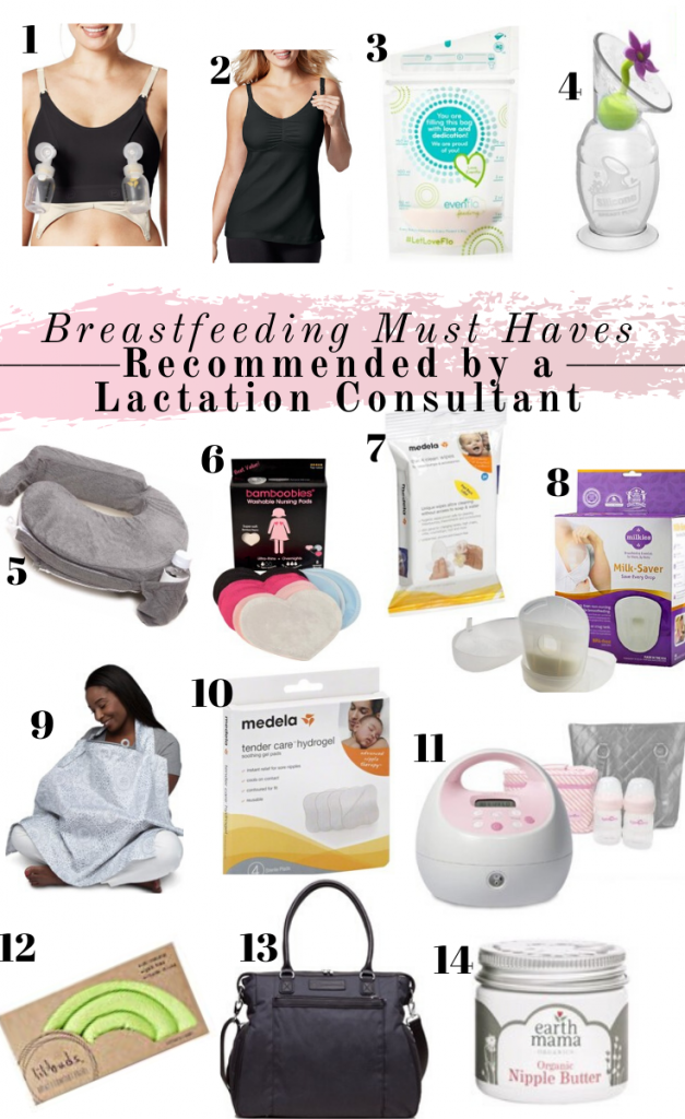 breastfeeding favorites