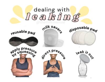 milk leaking, leaking milk
